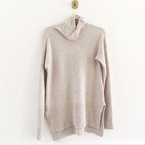 Lou & Grey Turtleneck Wool Tunic Sweater